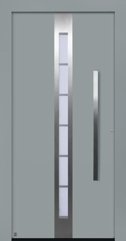 Motiv 686 Thermo Carbon in Vorzugsfarbe Fenstergrau matt, RAL 7040