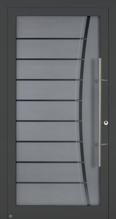 Motiv 100 Motivglas 116, CH 703 Anthrazitgrau,strukturiert