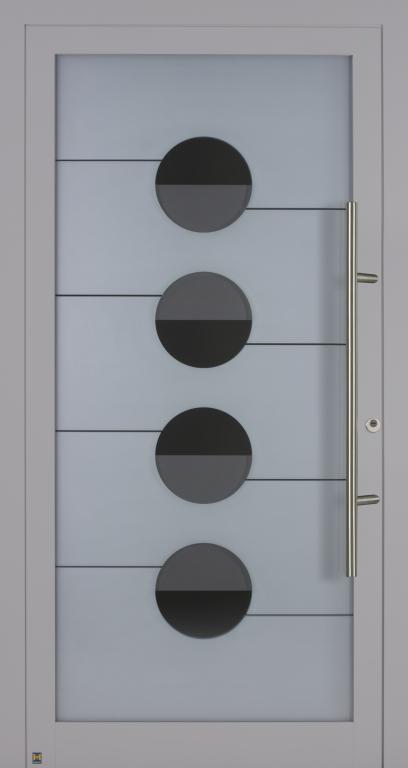 Motiv 100 MG 114 in Vorzugsfarbe Weißaluminium seidenglänzend, RAL 9006