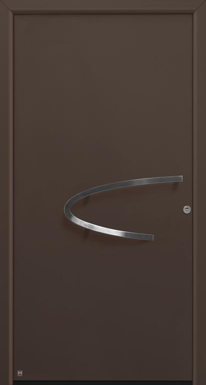 Motiv 551 Thermo Safe in Farbton CH 607 Marone, strukturiert, mit Blendrahmen Rondo