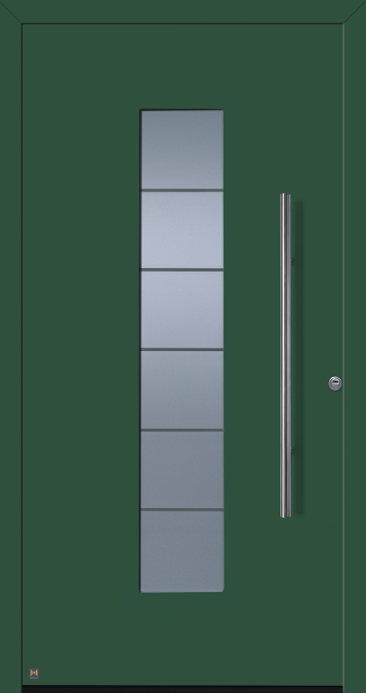 Motiv 504 Thermo Safe in Vorzugsfarbe Moosgrün matt, RAL 6005